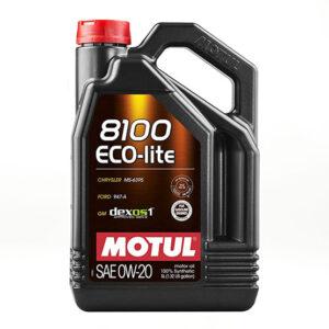 MOTUL Motor Oil: 8100 Eco-lite 0W-20