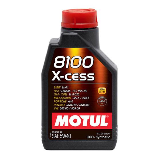 MOTUL Motor Oil: 8100 X-cess 5W40