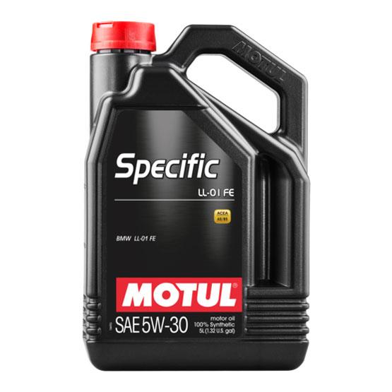 MOTUL Motor Oil: Specific LL-01 FE SAE 5W-30